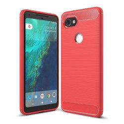Google Pixel 2 XL Skal med förstärkta hörn - Röd