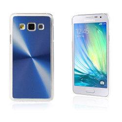 Grooves Samsung Galaxy A3 Hårt Skal - Blå