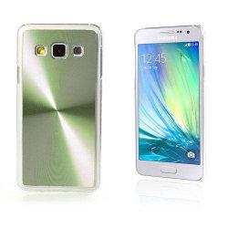 Grooves Samsung Galaxy A3 Hårt Skal - Grön