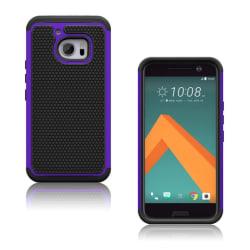 Hårderåde HTC 10 Combo Hybridskal - Lila