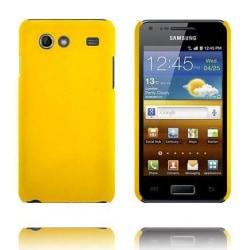Hårdskal (Gul) Samsung Galaxy S Advance Skal