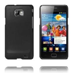 Hårdskal (Svart) Samsung Galaxy S2 Skal