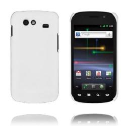 Hårdskal (Vit) Samsung i9020 Google Nexus S Skal