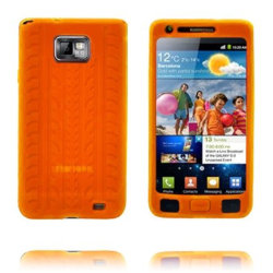 Highway (Orange) Samsung Galaxy S2 Skal