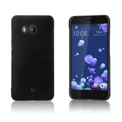 HTC U11 Enfärgat skal - Svart