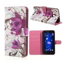HTC U11 Fodral med ett unikt motiv - Blommor