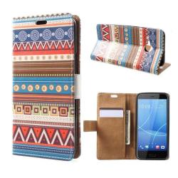 HTC U11 Life Fodral med ett läckert motiv - Geometri mönster