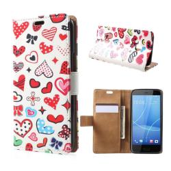 HTC U11 Life Fodral med ett läckert motiv - Hjärtan
