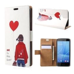 HTC U11 Life Fodral med ett läckert motiv - Pojke hjärta