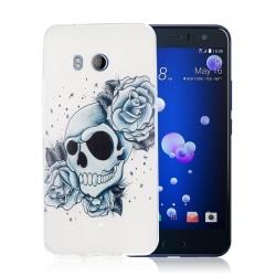 HTC U11 Skal med ett exotiskt motiv - Döskalle