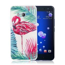 HTC U11 Skal med ett exotiskt motiv - Flamingo