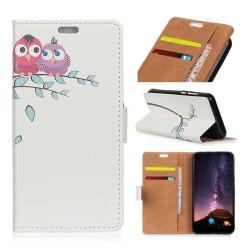HTC U12+mobilfodral konstläder silikon stående läge plånbok