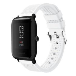 Huami Amazfit klockarmband 316L rostfri stål silikon - Vit