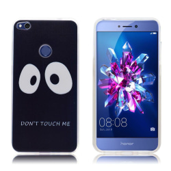 Huawei Honor 8 Lite elegant silikonskal - Don´t touch me