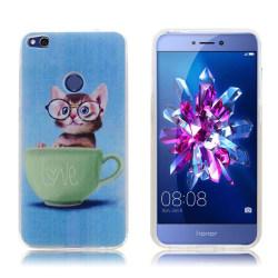 Huawei Honor 8 Lite elegant silikonskal - Katt