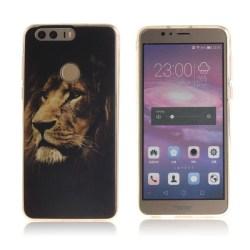 Huawei Honor 8 mjuk silikonskal - Stolt lejon