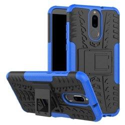 Huawei Mate 10 Lite Hybird skal med kickstand - Blå
