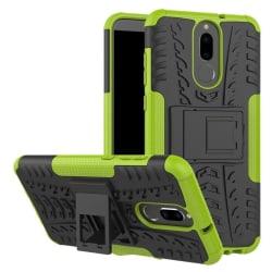 Huawei Mate 10 Lite Hybird skal med kickstand - Grön