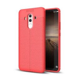 Huawei Mate 10 Pro Enfärgat silikon skal - Röd