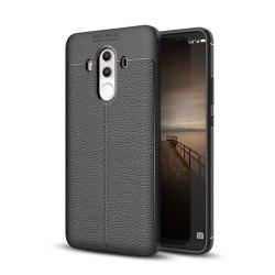Huawei Mate 10 Pro Enfärgat silikon skal - Svart