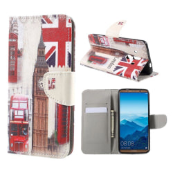 Huawei Mate 10 Pro Fodral med modernt motiv - London
