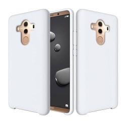 Huawei Mate 10 Pro flytande silikonfodral - Vit
