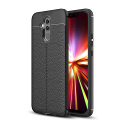 Huawei Mate 20 Lite litchi grain soft case - Black
