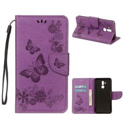 Huawei Mate 20 Lite syntet läder plånboks mobilfodral med fj