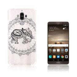 Huawei Mate 9 elegant silikonskal med motiv - Elefant