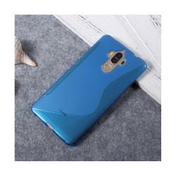 Huawei Mate 9 S-form silikonskal - Blå