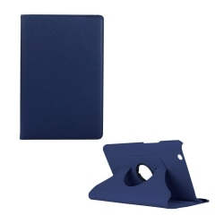 Huawei MediaPad M3 8.4 litchi läderfodral - Mörkblå