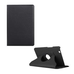 Huawei MediaPad M3 8.4 litchi läderfodral - Svart