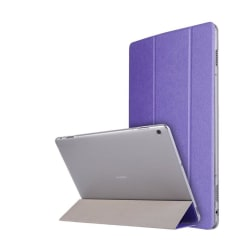 Huawei MediaPad M3 Lite 10.1 Enfärgat läder fodral - Lila