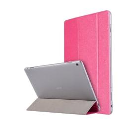 Huawei MediaPad M3 Lite 10.1 Enfärgat läder fodral - Rosa