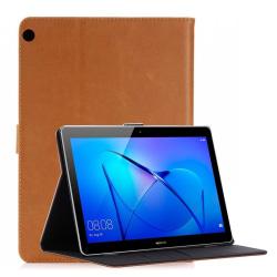Huawei MediaPad M3 Lite 10.1 Retro designat fodral - Ljus br