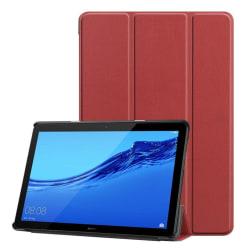 Huawei MediaPad T5 stående skyddsfodral av syntetläder – Bru