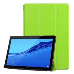 Huawei MediaPad T5 stående skyddsfodral av syntetläder – Grö