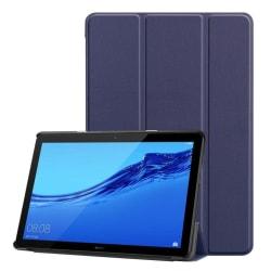 Huawei MediaPad T5 stående skyddsfodral av syntetläder – Mör