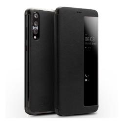 Huawei P20 Pro mobilfodral koskinn silikon stående ställning