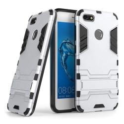 Huawei P9 Lite Mini Hybird skal med kickstand - Vit