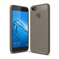 Huawei P9 Lite Mini Skal i miljövänligt material - Grå