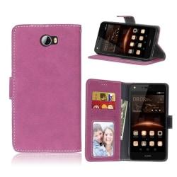 Huawei Y5 II Fodral med plånbok - Rosa