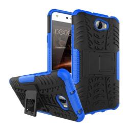Huawei Y5 II Hybird skal med kickstand funktion - Blå