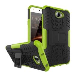 Huawei Y5 II Hybird skal med kickstand funktion - Grön