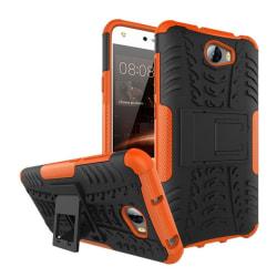 Huawei Y5 II Hybird skal med kickstand funktion - Orange