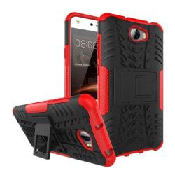 Huawei Y5 II Hybird skal med kickstand funktion - Röd