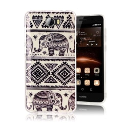 Huawei Y5 II Skal med unikt motiv - Elefanter