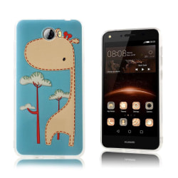 Huawei Y5 II Skal med vintage motiv - Giraff
