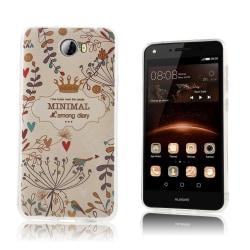 Huawei Y5 II Skal med vintage motiv - Krona