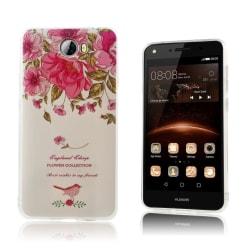 Huawei Y5 II Skal med vintage motiv - Rosor